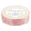 【マスキングテープ】 プチジョアマスキングテープ チュールレース(ピンク)