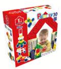 【教材 知育玩具 遊び創意】Lブロック プライマリー30