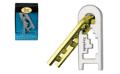 【おもしろ教材 知恵の輪】 キャストパズル(キャストキーホール)レベル4