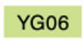 【美術 コミック用品】 コピックチャオ YG06 (yellowish green)