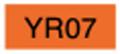 【美術 コミック用品】 コピックチャオ YR07 (cadmium orange)