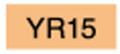 【美術 コミック用品】 コピックチャオ YR15 (pumpkin yellow)