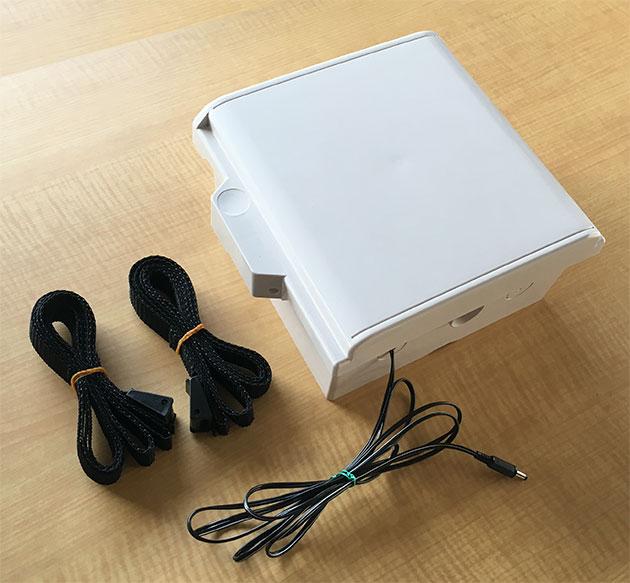 自動撮影カメラ用バッテリーボックス