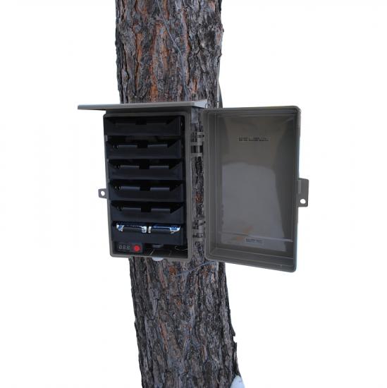 自動撮影カメラ用バッテリーボックス(単一24本)