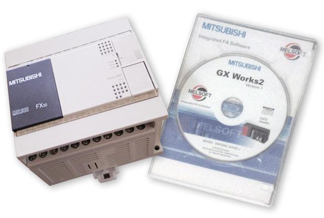 シーケンサFX3S-30MRとプログラミングソフトGX Works2