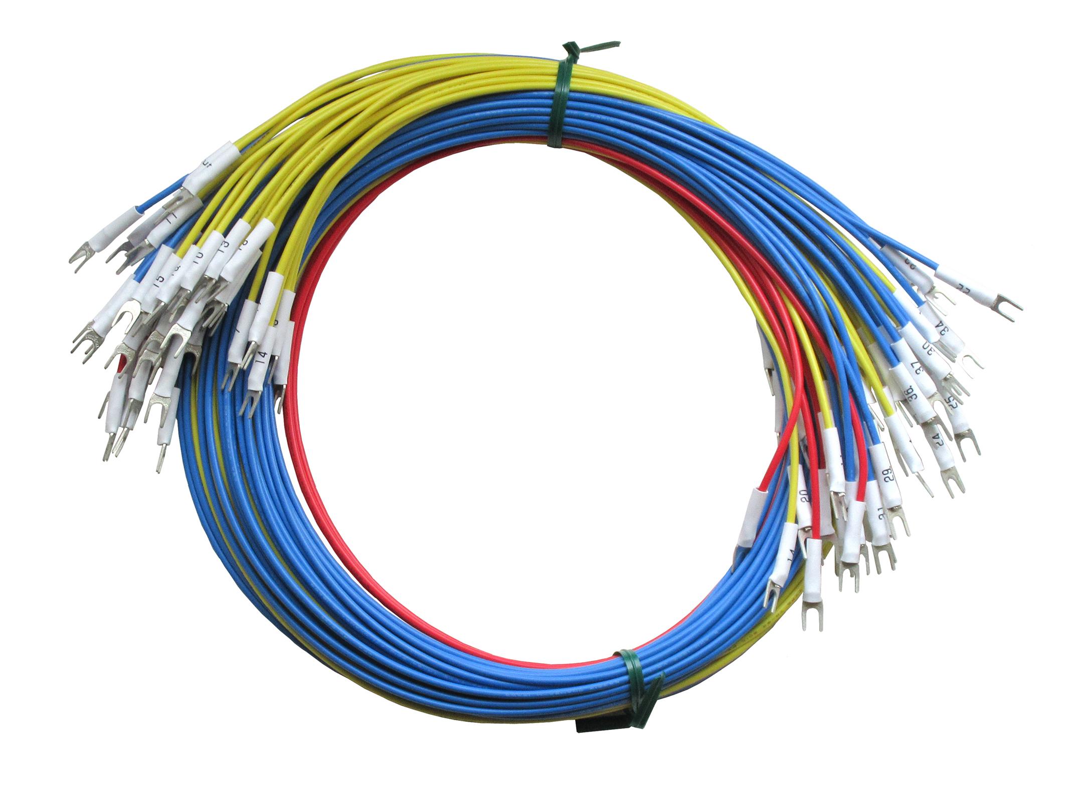 Y端子付き配線ケーブル