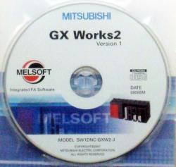 三菱エンジニアリングソフト GX Works2 (SW1DND-GXW2-J)