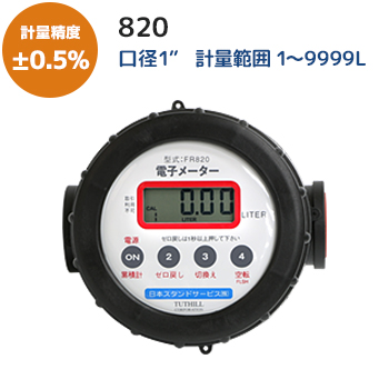 電子メーター 820メイン