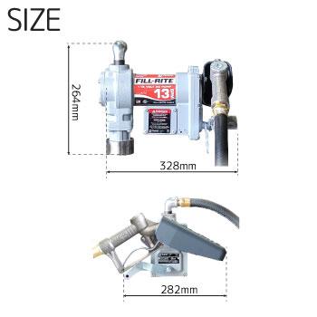 電動ポンプsd602寸法図