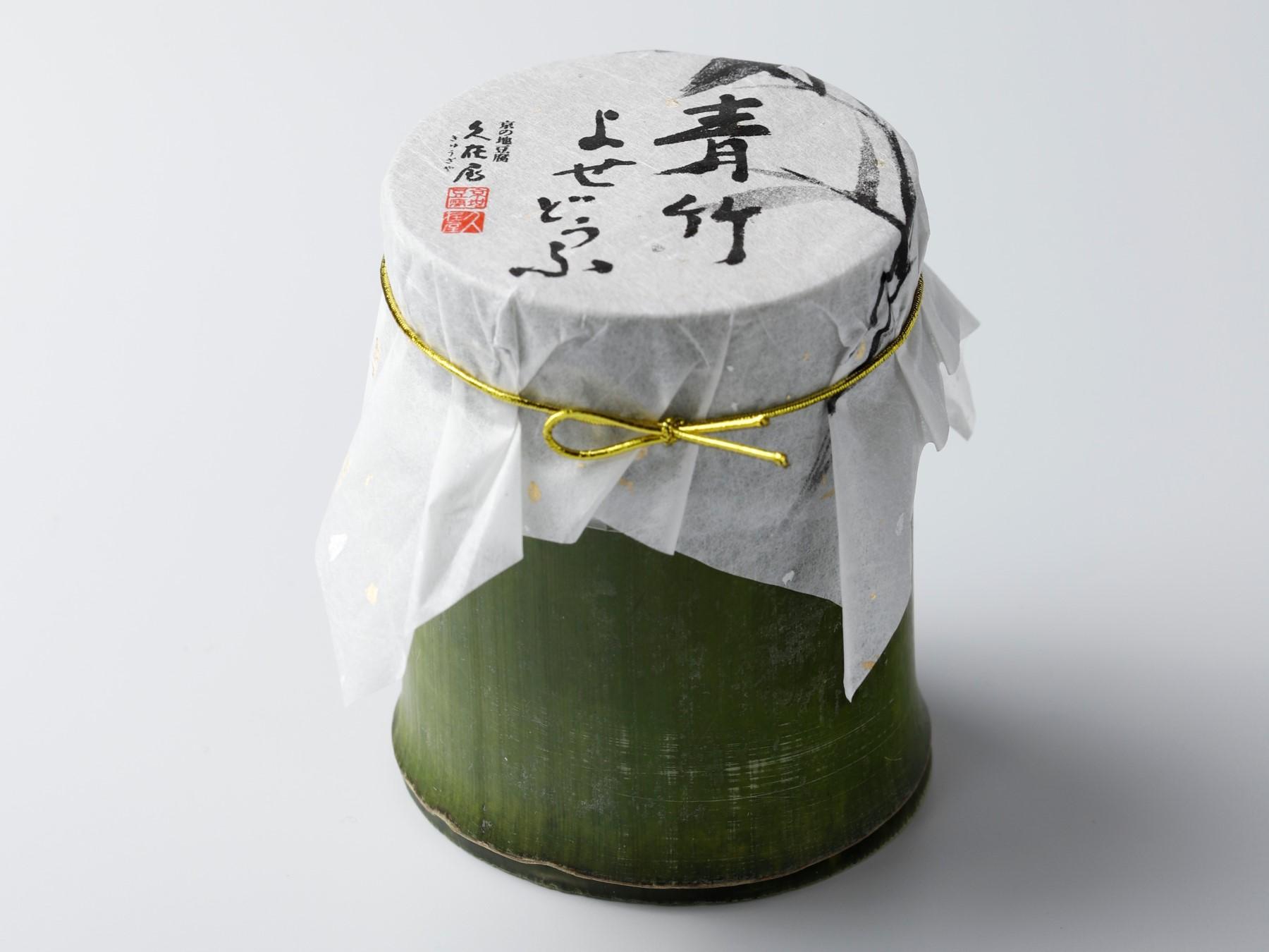 青竹よせ豆腐 (寄せ豆腐)