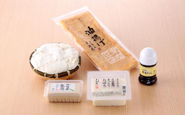 ざる豆腐セット