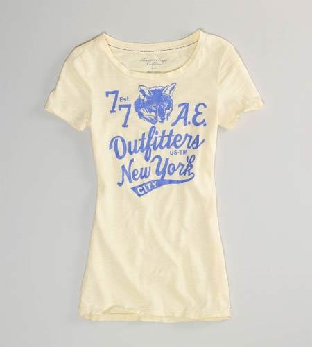 アメリカンイーグル新作レディース:Tシャツ