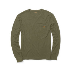 ラルフローレンPOLO Ralph Lauren Tシャツ ロンT:Classic-Fit Long Sleeve Tee - British Olive