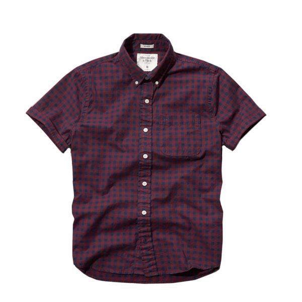 アバクロ 半袖シャツ