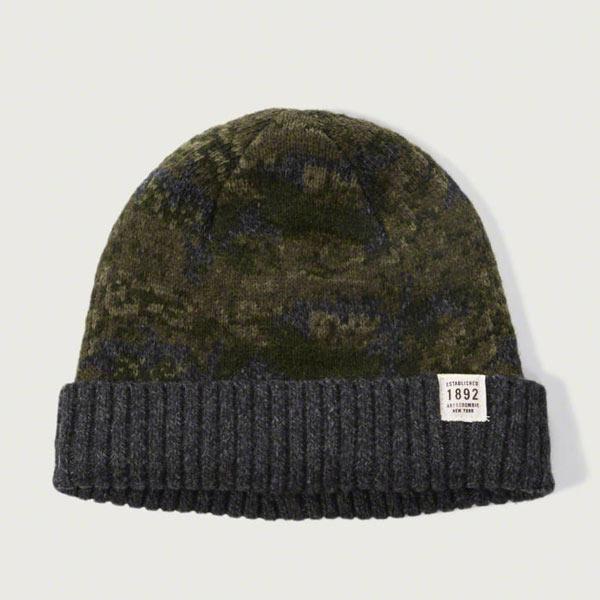 アバクロ ニット帽
