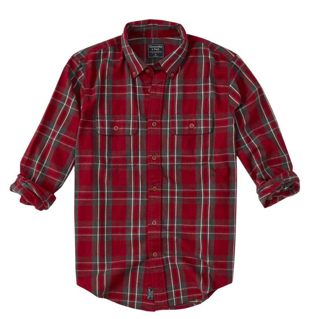 アバクロ ネルシャツ