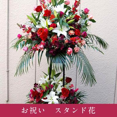 お祝い スタンド花 <2段>