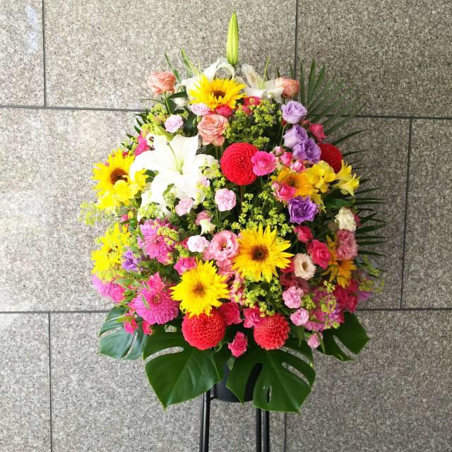 お祝い スタンド花 <1段>