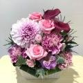 御祝アレンジメント<おまかせ・紫・5,000円>