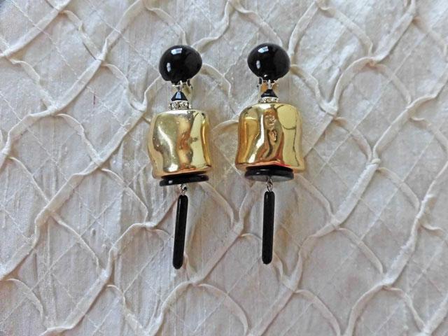 アンジェラ、ヌガー&バースイングイヤリングER9009-GD ゴールド