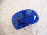 アンジェラ、スカラボッキオボリュームバングルBL4001-BL ブルー