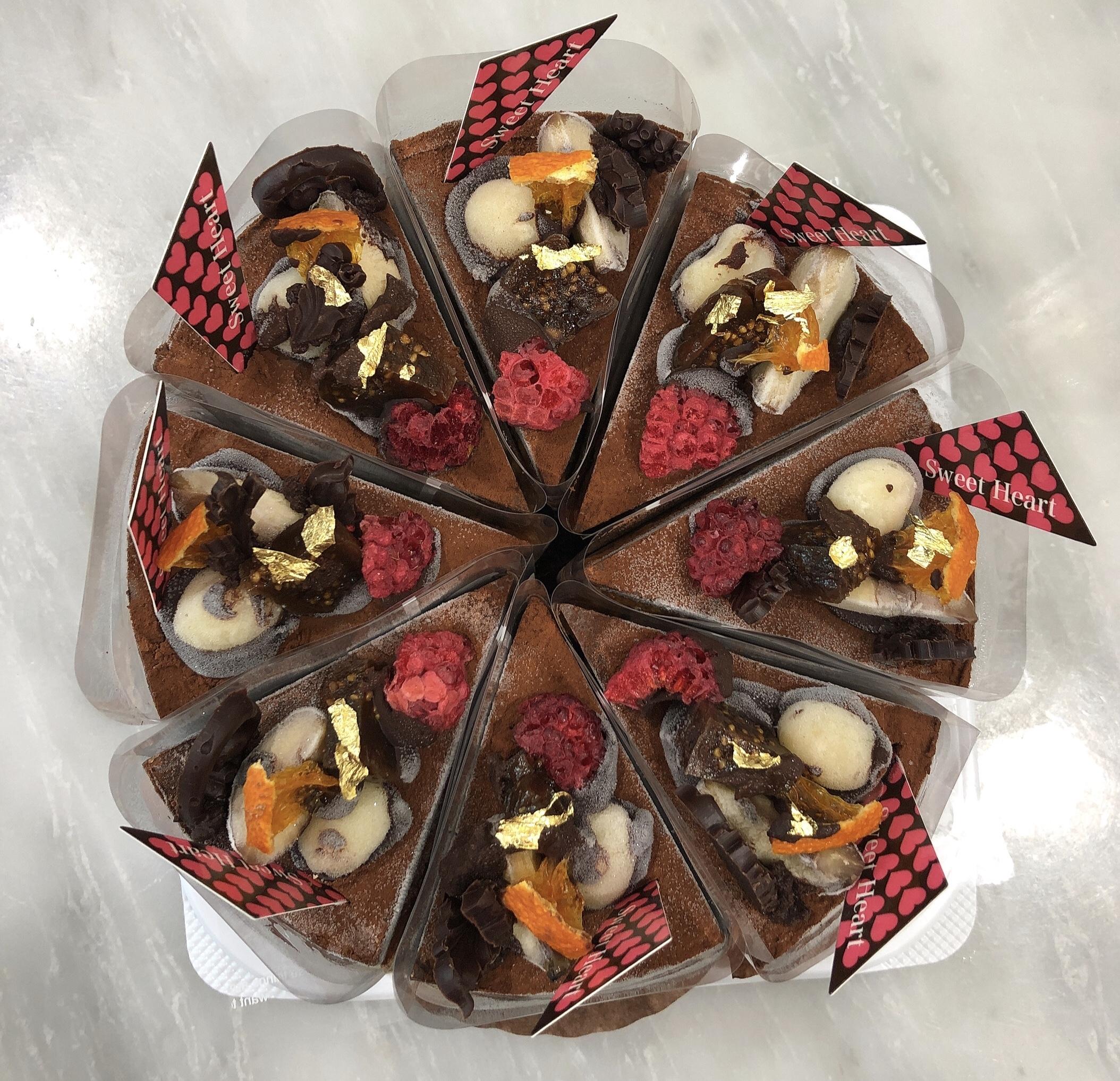 <Rawケーキ>プレミアム チョコレートケーキ  12cmホール (8カット)