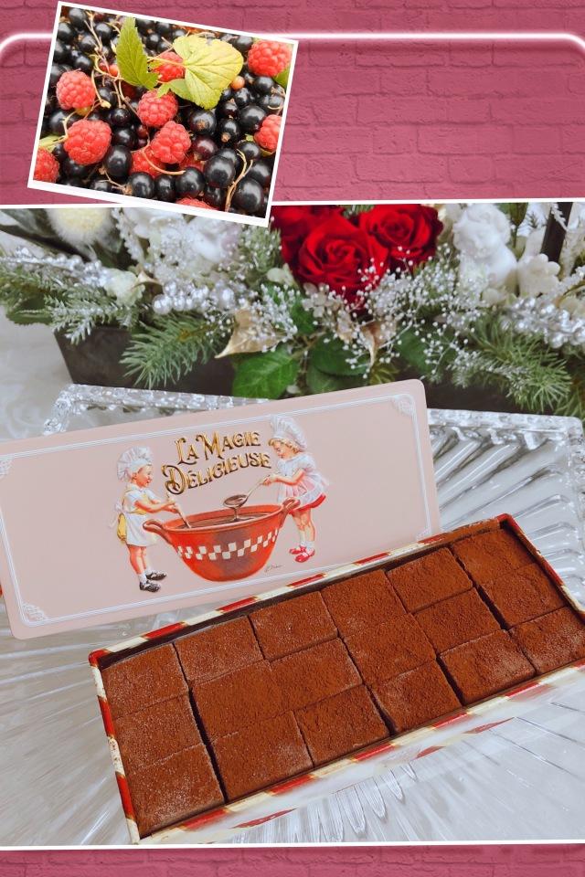 【期間限定】ショコラシャルール (プレミアムハニー生チョコレート) カシス&フランボワーズ