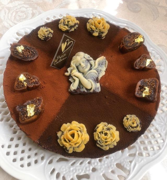 ≪Organic Rawケーキ≫ 濃厚クラシックチョコレートケーキ (天使の微笑み)18cmホール