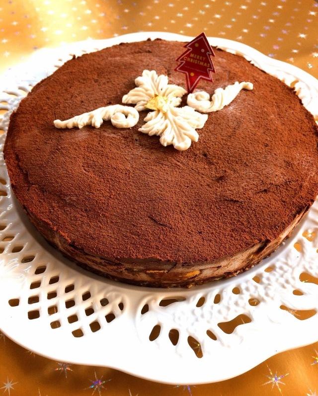 <Rawケーキ>プレミアム チョコレートケーキ  ~天使のワルツ~  18cmホール