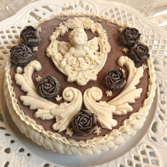 《ヴィーガンケーキ》 エンジェル ドリーム 15cmホール (チョコレートケーキ)
