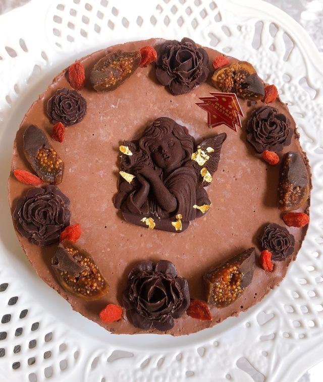 ≪Organic Rawケーキ≫ 濃厚クラシックチョコレートケーキ (天使の微笑み)15cmホール