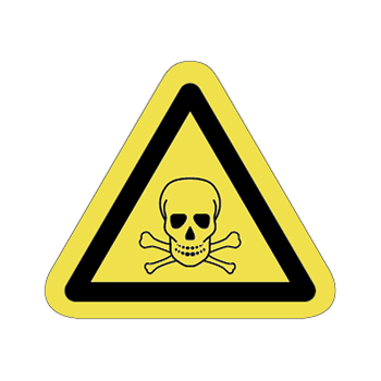 毒物注意ラベルT-12-Sの画像