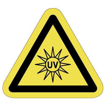 紫外線注意ラベルT-23-Mの画像