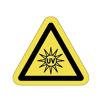 紫外線注意ラベルT-23-Sの画像