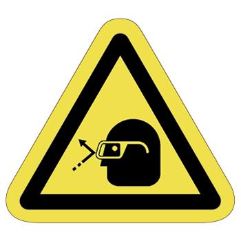 注意ラベルT-38-Mの画像