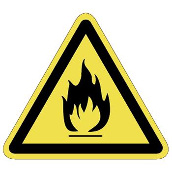 発火注意ラベルT-05-Lの画像