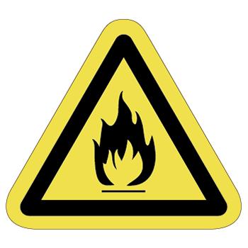 発火注意ラベルT-05-Mの画像