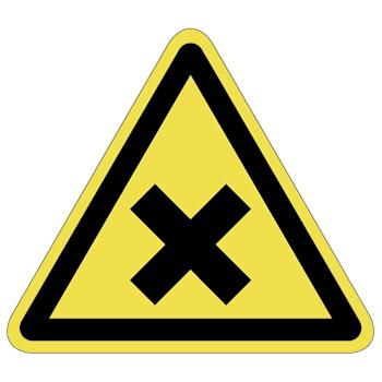 化学注意ラベルT-10-Lの画像