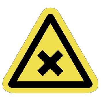 化学注意ラベルT-10-Mの画像