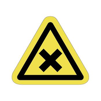 化学注意ラベルT-10-Sの画像