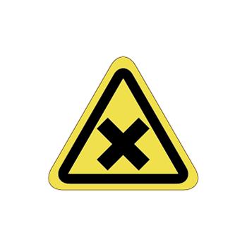 化学注意ラベルT-10-SSの画像