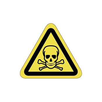 毒物注意ラベルT-12-SSの画像