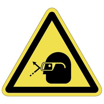 注意ラベルT-38-Lの画像