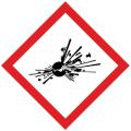 DK-002-L GHSラベル 爆発物     (150x150)