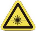T-7-L レーザー注意