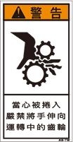 ZH-205-S    巻込まれ(61×31)