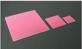 IRカットフィルター#b K0025  (両面 IRC+AR) □35mm 板厚t0.21mm 50μm以下