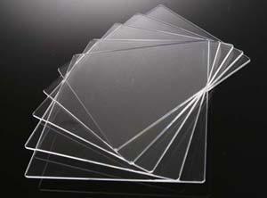 合成石英ガラス基板 Labo-USQ □10×10×0.5t (mm)  5枚セット 高透過率 高純度