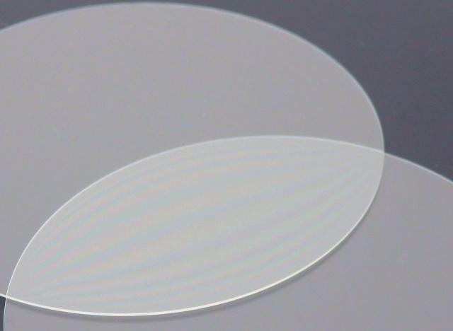 ガラス基板(ホウケイ酸ガラス) φ50×0.3t(mm) 5枚セット