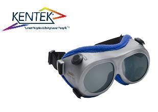 レーザー保護メガネ KGG-062C ゴーグル (調整用) グレー 可視光透過率 13%